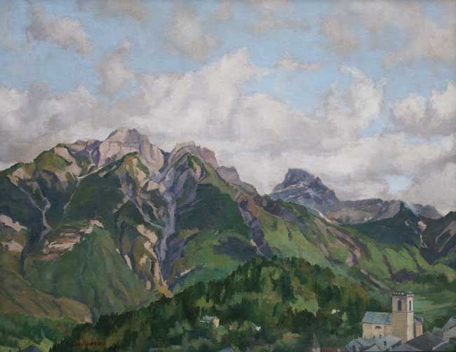 Rowan Huntley, Morning In The Mountains