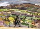 Duncan Johnson, Hawthorn And Hills Above Crickhowell