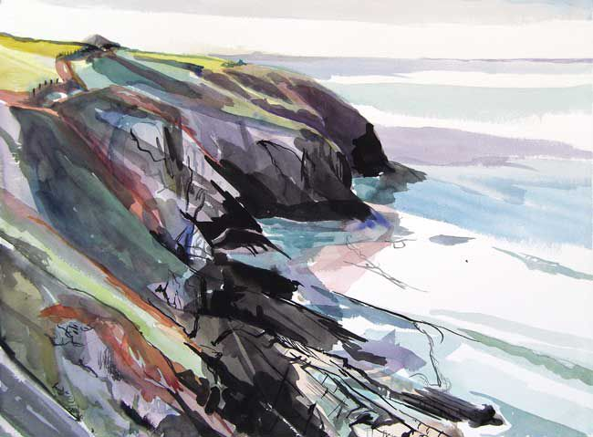 Duncan Johnson, Towards Mwnt