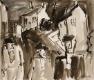 Mike Jones, Figures In Street, Cwmtawe 2