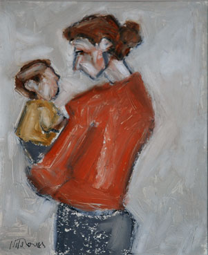 Mike Jones, Mother & Child
