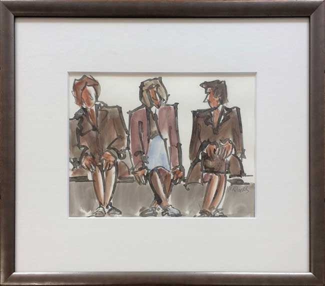 Mike Jones, Seated Ladies, Royal Welsh