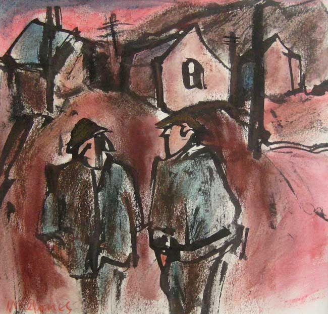 Mike Jones, Two Men In Street