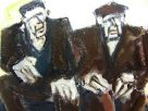 Mike Jones, Two Men Seated