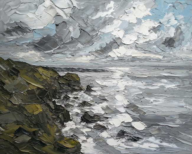 Martin Llewellyn, Clouds Over South Stack