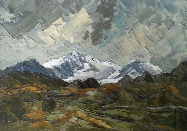 Martin Llewellyn, Clouds Over The Mountains