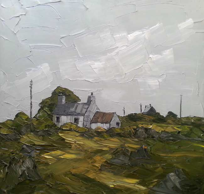 Martin Llewellyn, Cottages Near Carmarthen