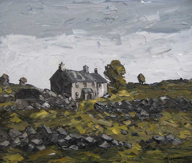 Martin Llewellyn, Cottages Welsh Landscape