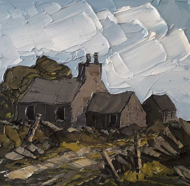 Martin Llewellyn, Farm And Stone Wall