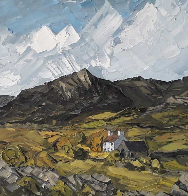 Martin Llewellyn, Farm Buildings, Welsh Landscape
