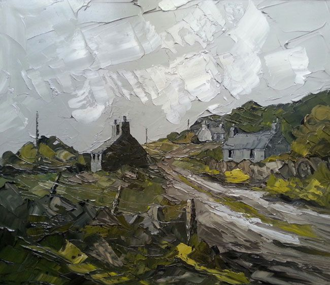 Martin Llewellyn, Farm Track And Cottages