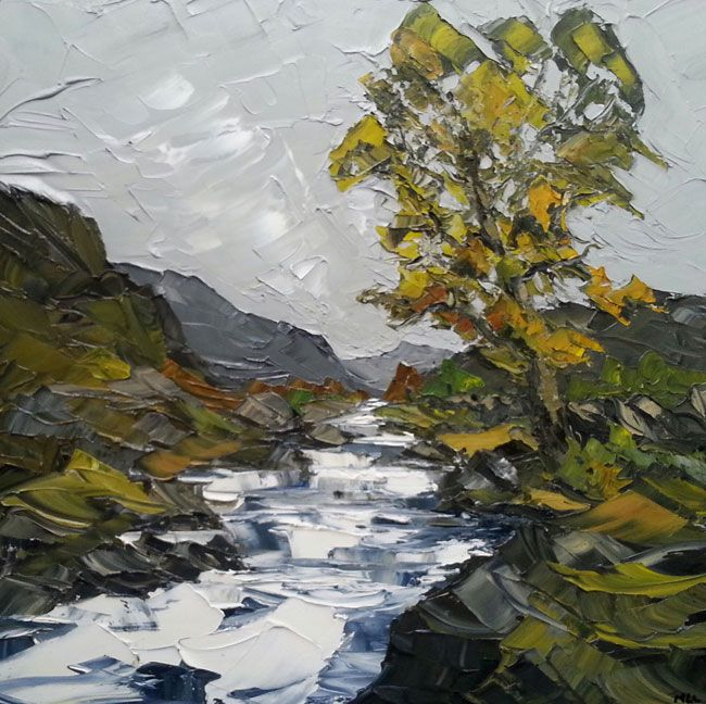 Martin Llewellyn, Mountain Stream