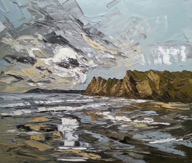 Martin Llewellyn, Reflections, Gower Peninsula
