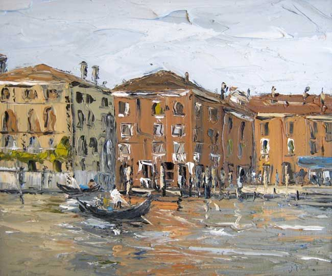Martin Llewellyn, Reflections, Venice