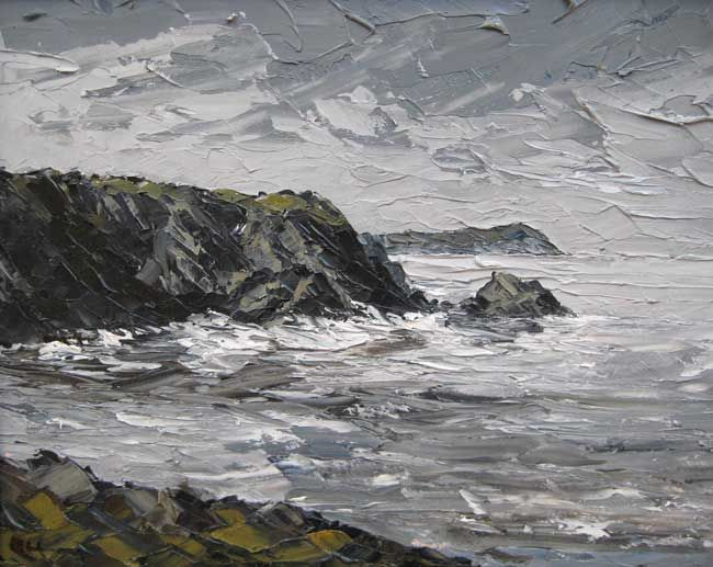 Martin Llewellyn, Rough Sea, Dinas Head