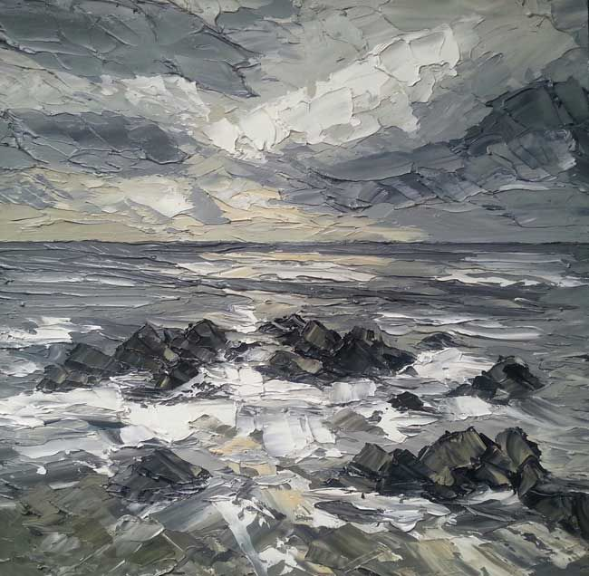 Martin Llewellyn, Stormy Sky, Pembrokeshire