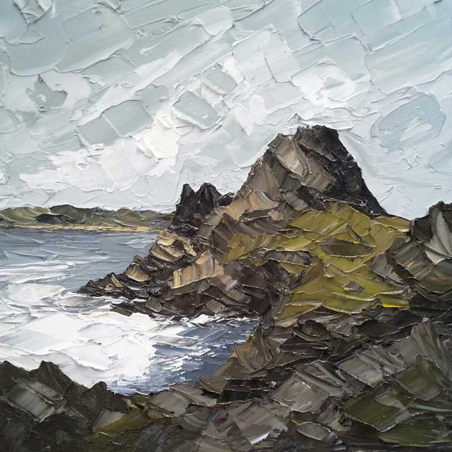 Martin Llewellyn, Three Cliffs From Pobbles Bay