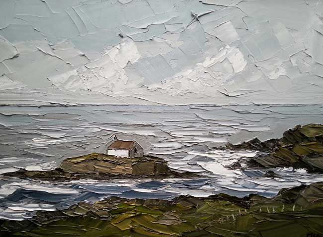 Martin Llewellyn, Toward St Cwyfan's Church