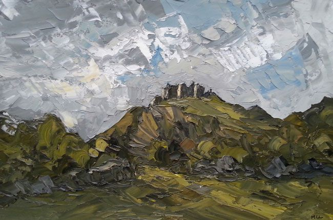 Martin Llewellyn, View Towards Carreg Cennen