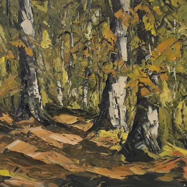 Martin Llewellyn, Woodland In Autumn