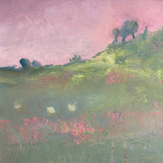 Tina Lucas, Evening, Valley Wandering