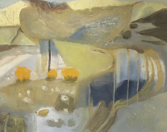 Tina Lucas, Gorse And Sheep