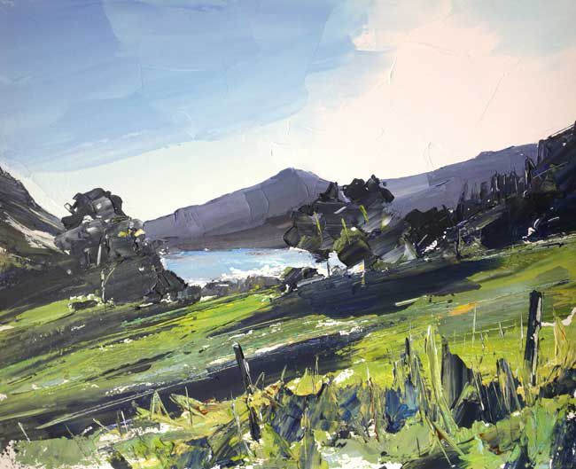 Sian McGill, Towards Talybont