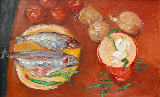 Michael Monaghan, Still Life With Fish
