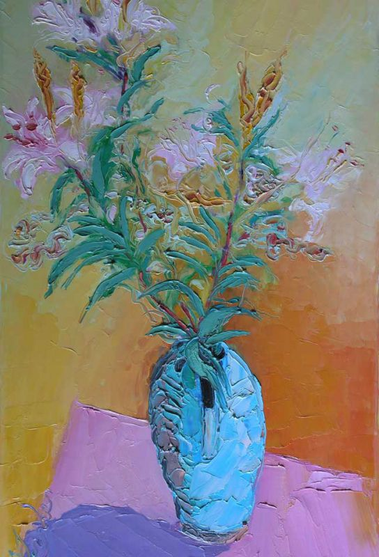 Michael Monaghan, Still Life With Lilies (unframed)