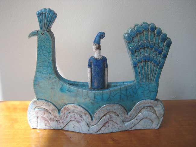 Sarah Noel, Figure In Peacock Boat 4