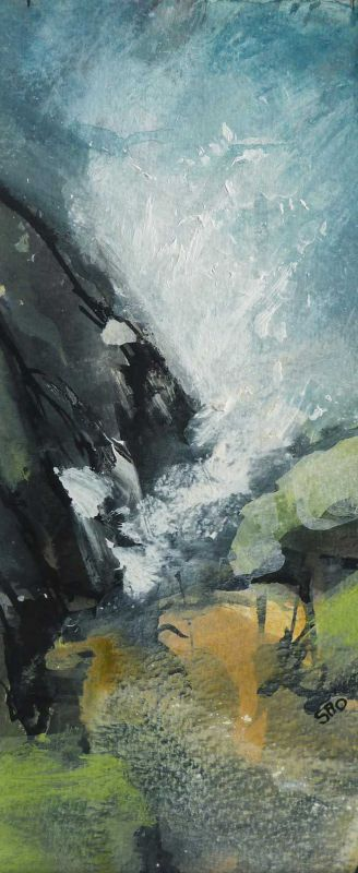Shirley Anne Owen, High Tide, Mewslade Bay