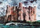 John Piper (1903-1992), Laugharne Castle