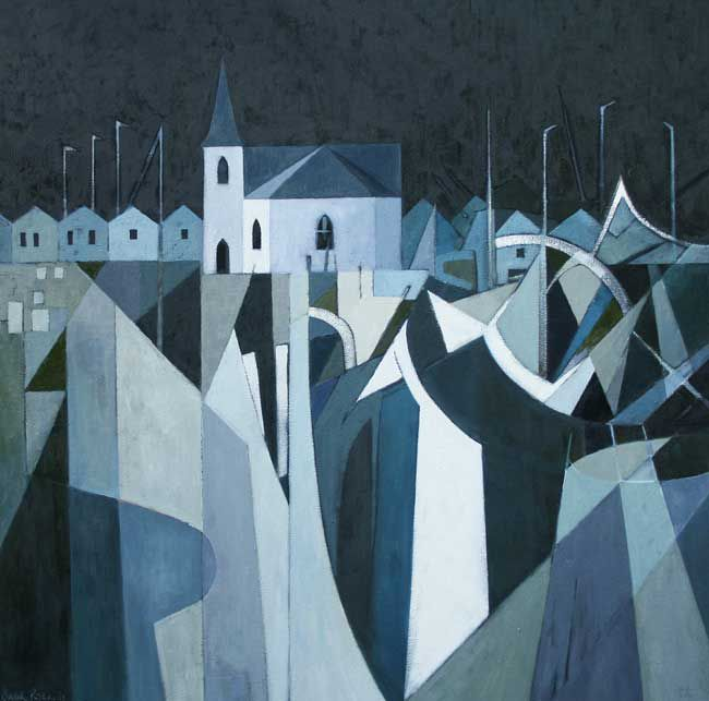 Sarah Richards, Norwegian Church, Night
