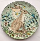 Tywi Valley Open Studios Artist, Hare by Kate Glanville