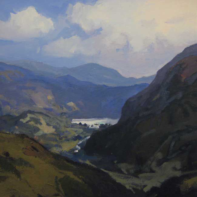 Gareth Thomas (1955-2019), Above Nant Gwynant