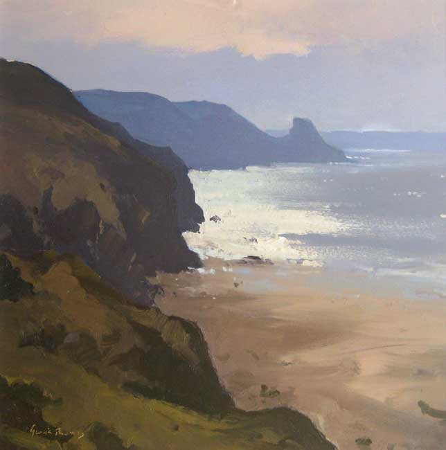 Gareth Thomas (1955-2019), Early Light, Ricketts Head