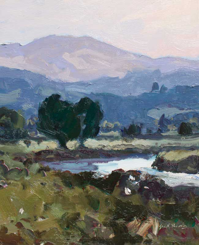 Gareth Thomas (1955-2019), Evening, Garn Goch From Llangadog