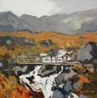 Gareth Thomas (1955-2019), Footbridge, Cwm Idwal