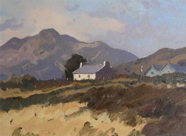 Gareth Thomas (1955-2019), House Near Carn Llidi