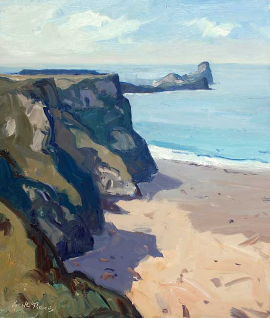 Gareth Thomas (1955-2019), Late Summer Worms Head