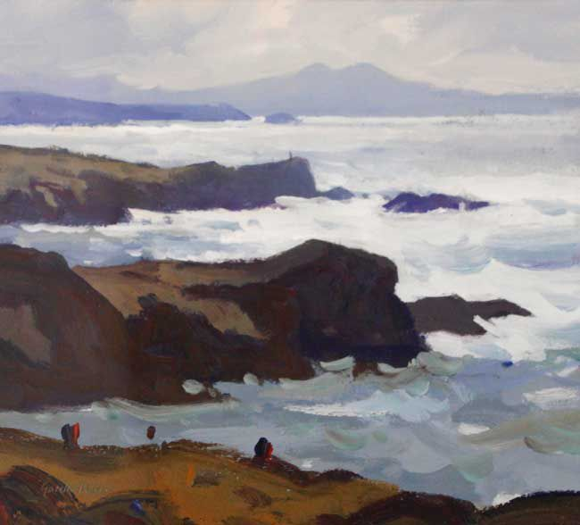 Gareth Thomas (1955-2019), Morning Light Near Treaddur Bay