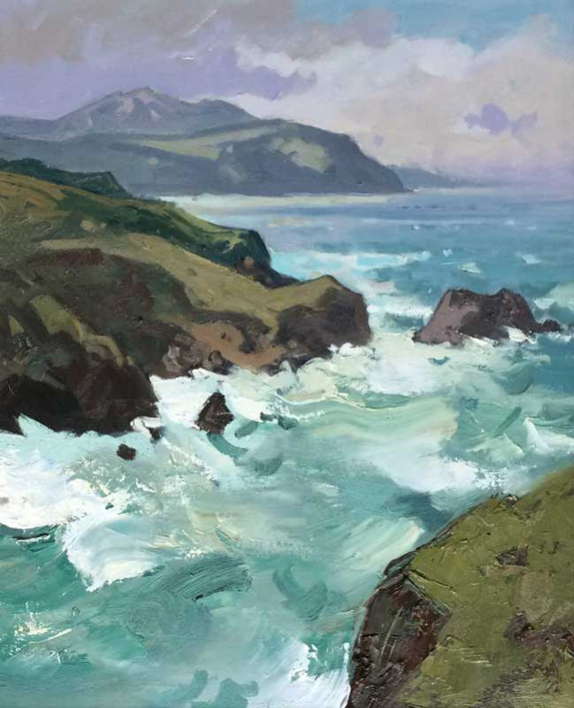 Gareth Thomas (1955-2019), Morning, Porth Iago