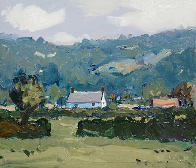 Gareth Thomas (1955-2019), Towy Valley House