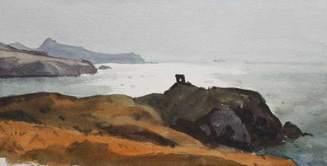 Gareth Thomas, Above Abereiddy