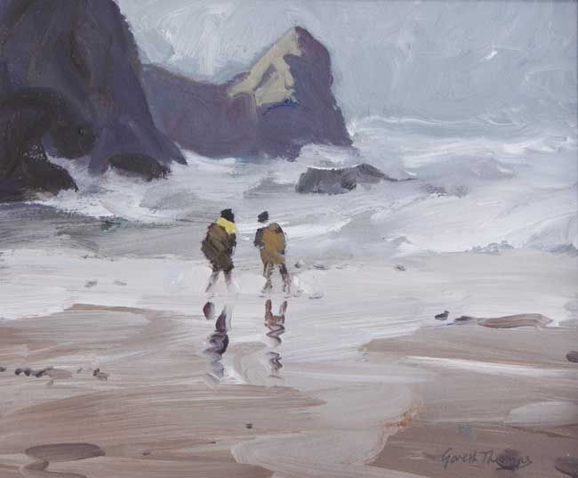 Gareth Thomas, After Rain, Llangrannog