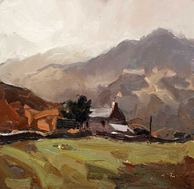 Gareth Thomas, After Rain, Near Capel Curig