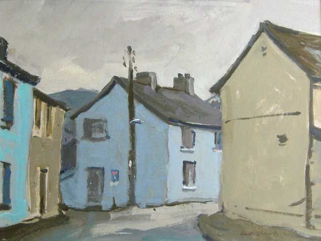 Gareth Thomas, After Rain, Tregaron