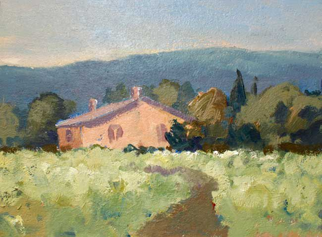 Gareth Thomas, Afternoon, Luberon Valley