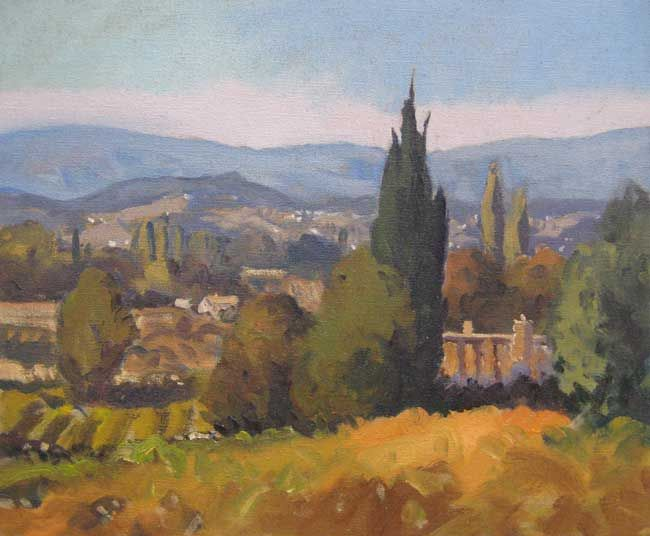 Gareth Thomas, Autumn In The Luberon