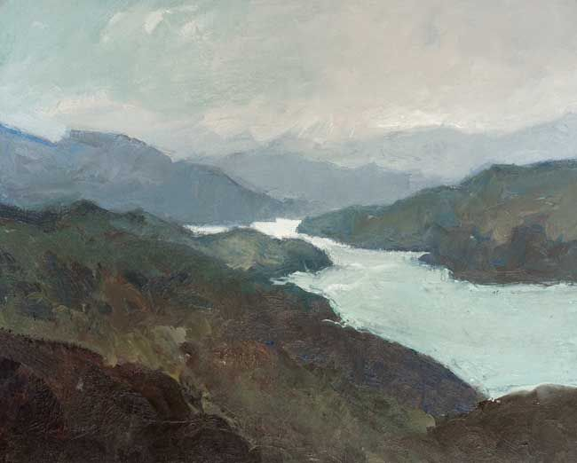 Gareth Thomas, Calm Morning, Mawddach Esturay